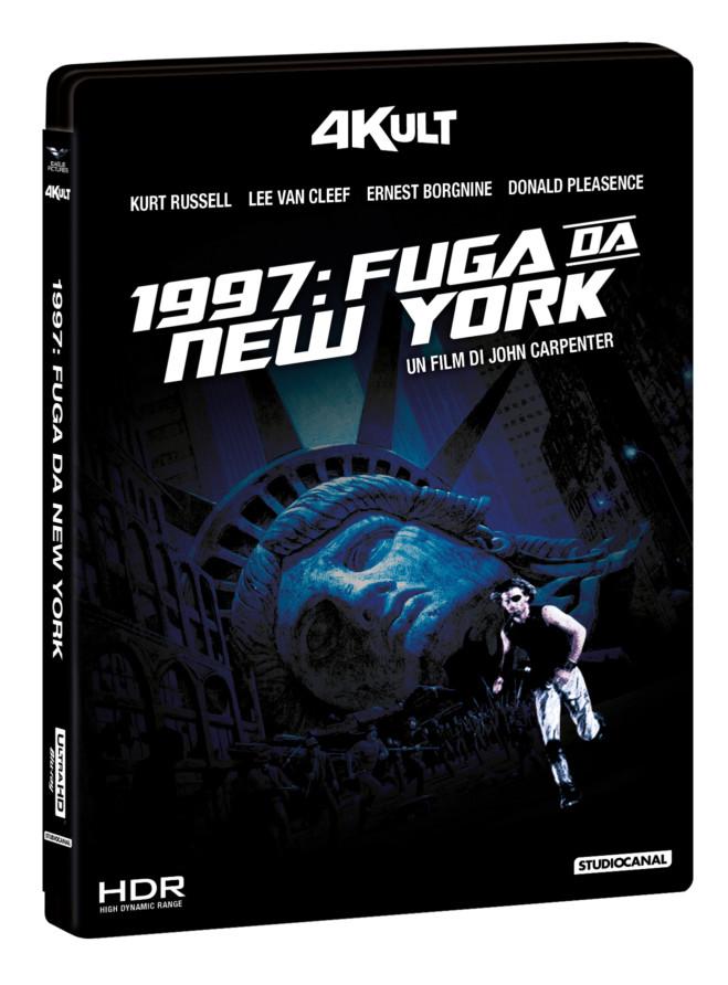 John Carpenter: quattro capolavori del maestro in doppio disco Blu Ray e 4k, collana 4kult