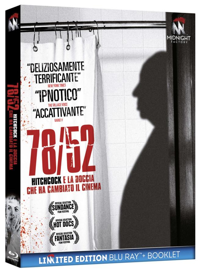 78/52, la scena della doccia di Psycho analizzata in dettaglio: Il Blu Ray del documentario e il video unboxing