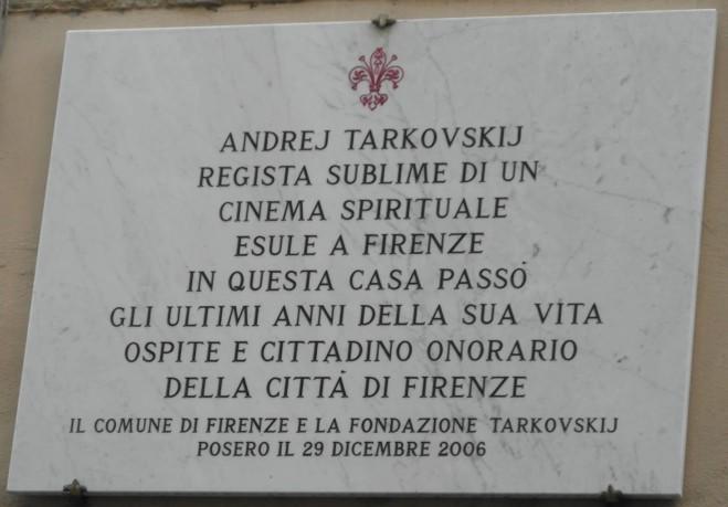 Andrej Tarkovskij, Il Cinema Come Preghiera: Oggi in anteprima a Firenze alla presenza del regista Andrej Andreevic Tarkovskij