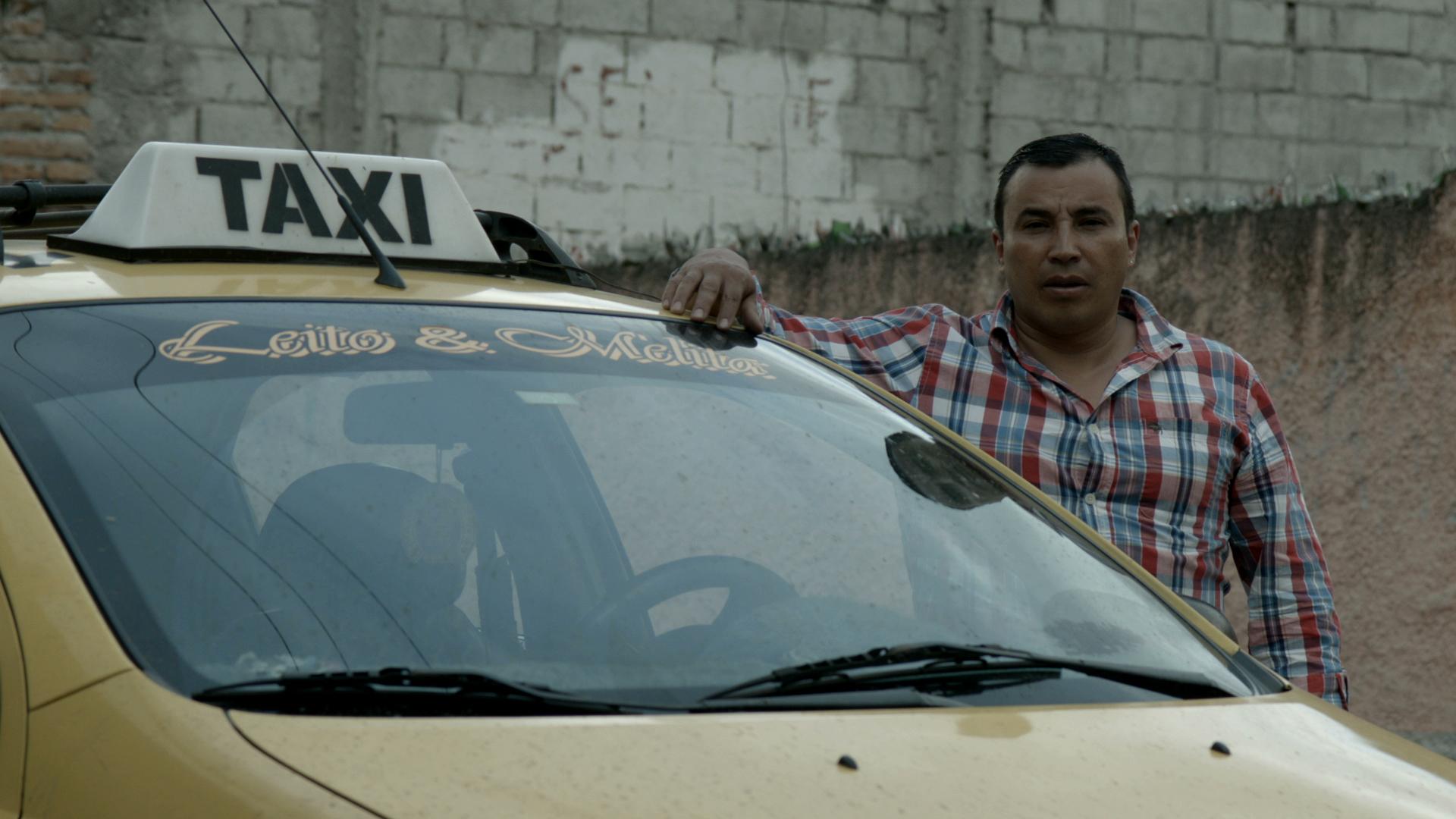 Freddy e il suo taxi in Country for old men di Stefano Cravero e Pietro Jona