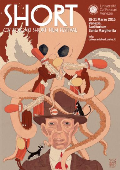 IGORT la locandina ufficiale del Ca' Foscari Short Film Festival V