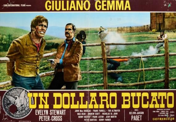 Un dollaro bucato, il capolavoro di Gianni Ferrio in silver vinyl macchiato rosso sangue