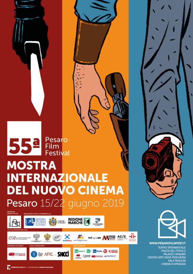Roberto Recchioni firma il manifesto del Pesaro Film Festival 55