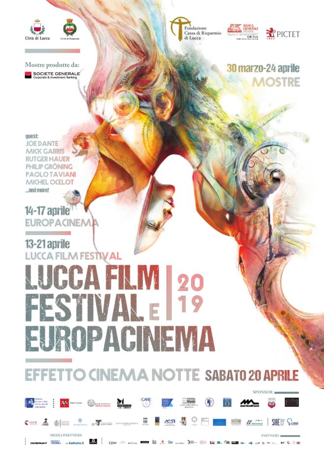 Lucca Film Festival & Europa Cinema 2019: Tutti i dettagli della 14/ma edizione