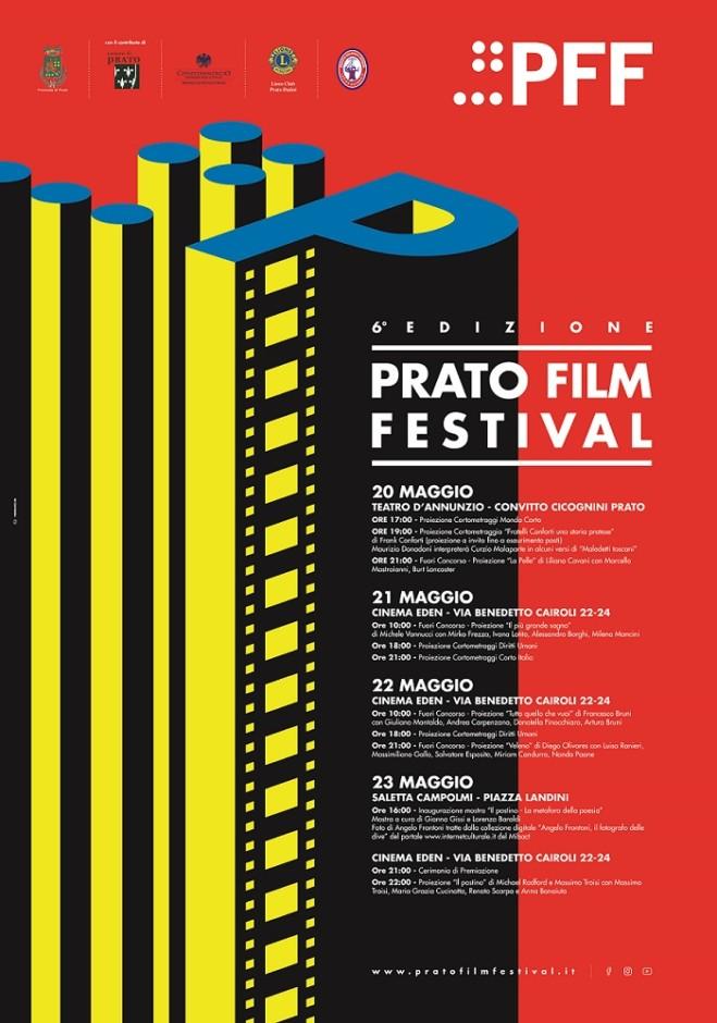 Prato Film Festival dal 20 al 23 Maggio