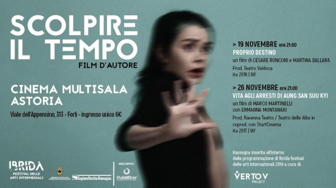 Scolpire il tempo 2° edizione, il 19 e il 26 novembre a Forlì