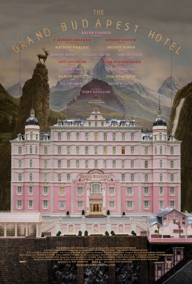 The Grand Budapest Hotel di Wes Anderson, il teaser poster
