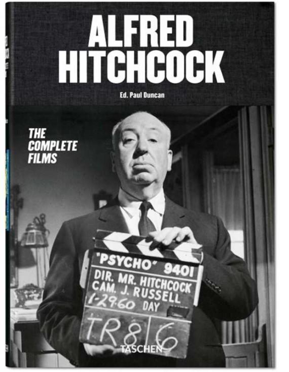 Alfred Hitchcock, The Complete Films, il volume fotografico Taschen dedicato al grande regista britannico