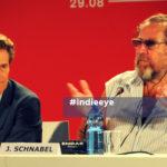 Julian Schnabel e Willem Dafoe a Venezia 75