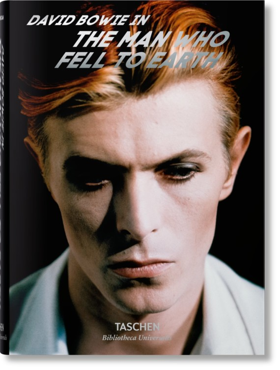 David Bowie in The Man Who Fell To Earth: le foto di David James nel volume Taschen