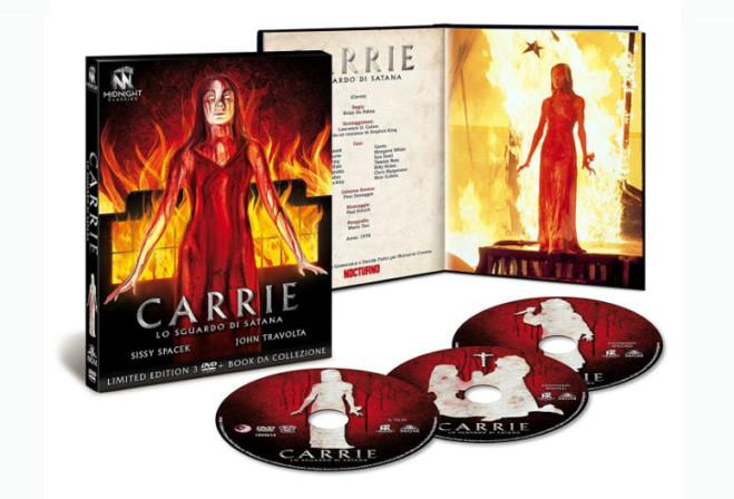 Carrie lo Sguardo di Satana di Brian De Palma: L'edizione 3 dischi limitata, unboxing video