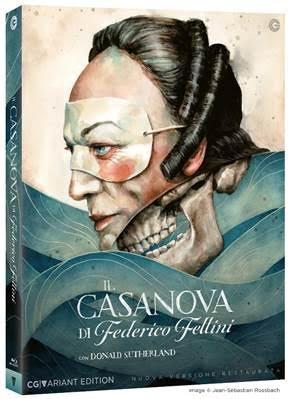 Il Casanova di Federico Fellini. L'edizione CG Variant Edition per i collezionisti