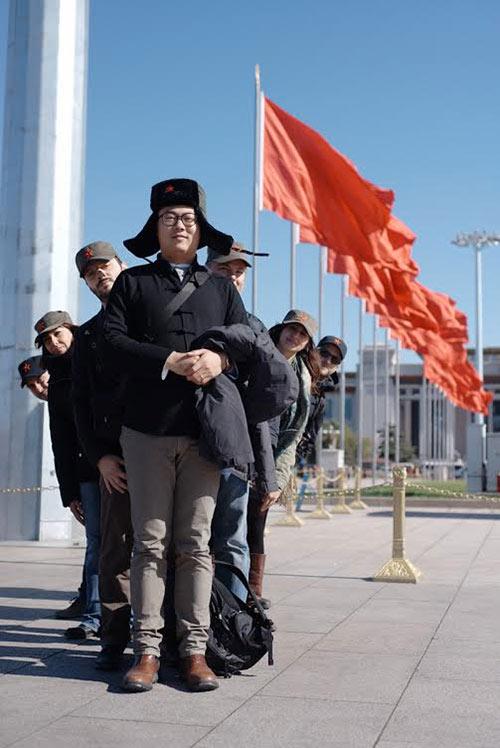 Il collettivo John Snellinberg sbarcato a Pechino