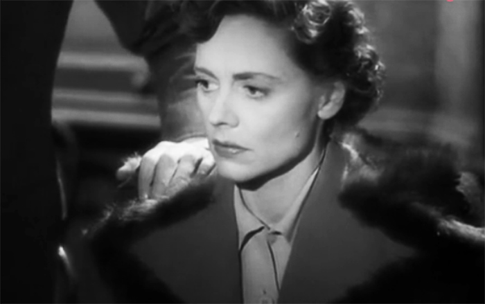 "Celia Johnson in ""Breve incontro"" di David Lean"