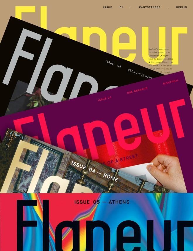 Flaneur Magazine – oggetti, persone, storie e frammenti di una strada: l'intervista