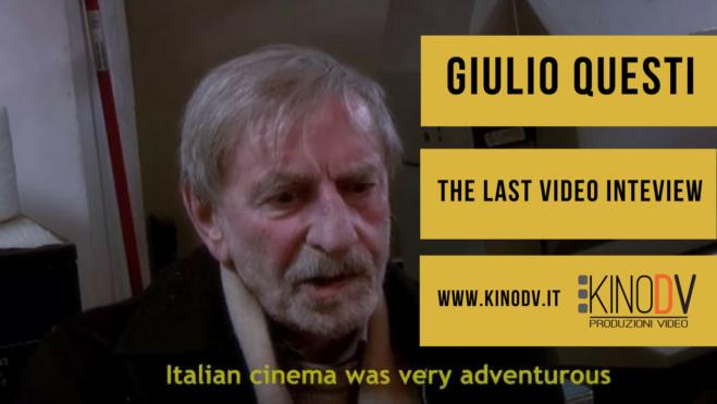 Giulio Questi, The Outsider – The last video interview