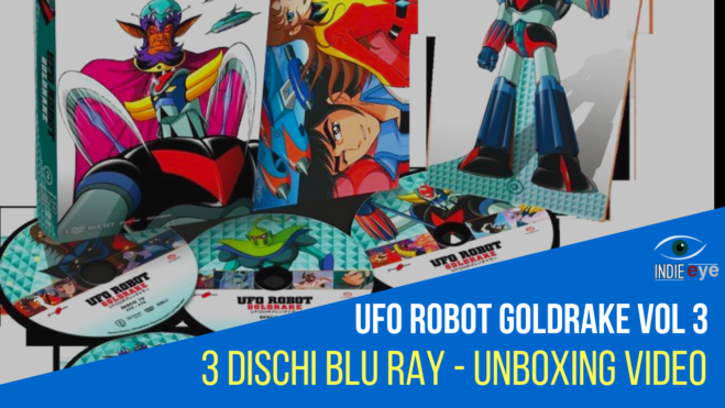 Ufo Robot Goldrake – Vol 3, l'ultimo volume Blu Ray della serie classica di Go Nagai: il video unboxing