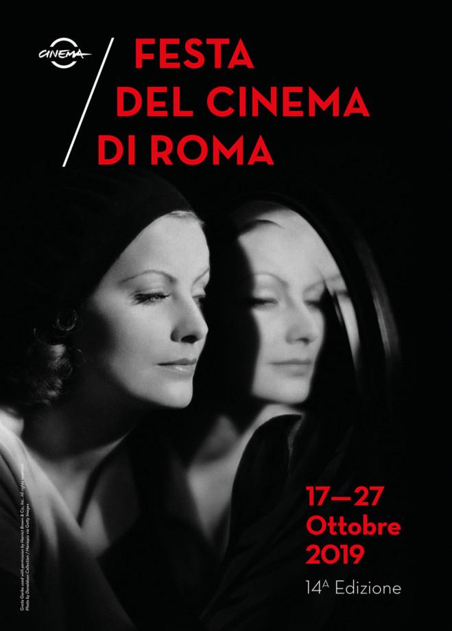 Greta Garbo nell'immagine ufficiale della Festa del Cinema di Roma, 14/ma edizione