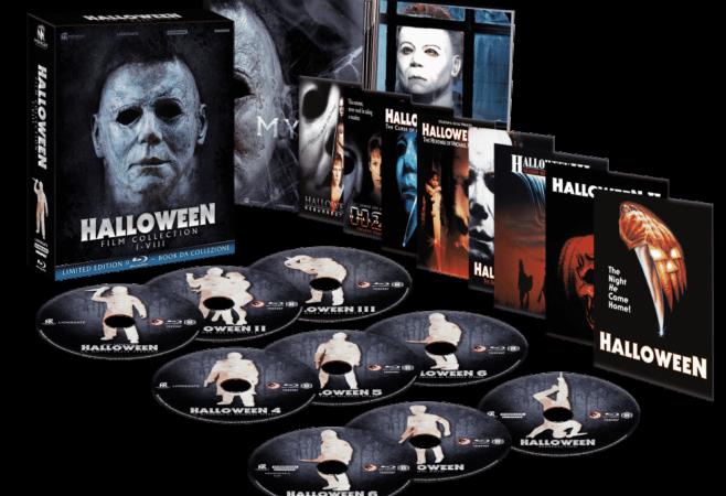 Halloween Film Collection, da Midnight Classics il box definitivo: Unboxing Video del box 9 Blu Ray