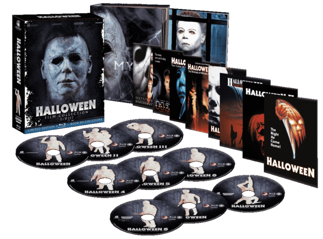 Halloween Film Collection, da Midnight Classics il box definitivo: Unboxing Video del box 9 Blu Ray