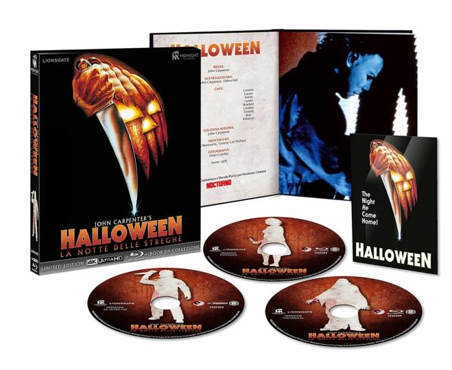 Halloween – La notte delle streghe – Edizione 3 Dischi con la versione estesa: Unboxing video
