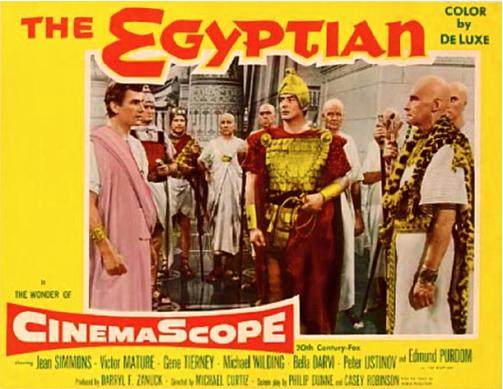 The Egyptian, per la prima volta la colonna sonora composta da Bernard Herrmann e Alfred Newman