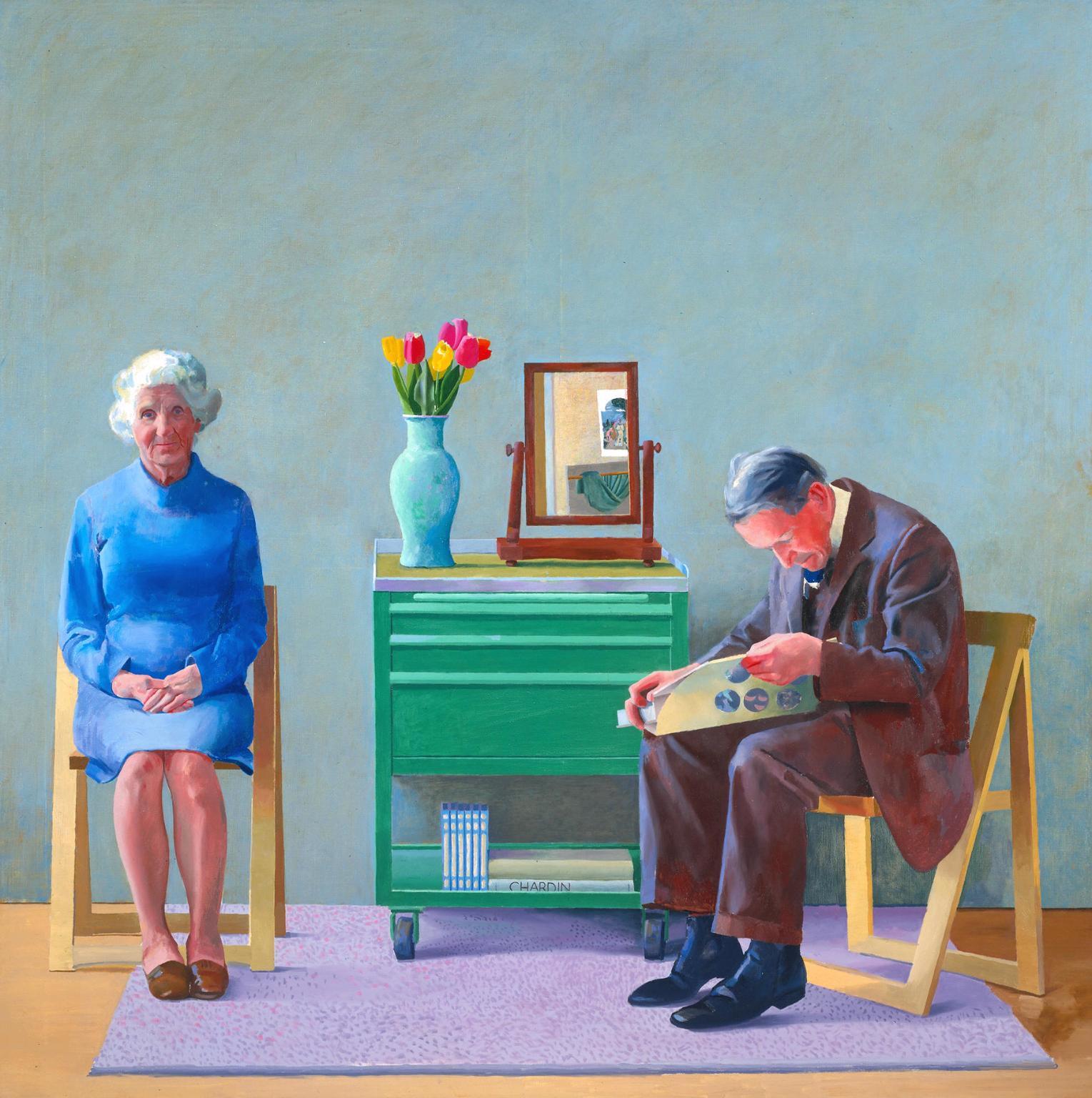 David Hockney - My Parents