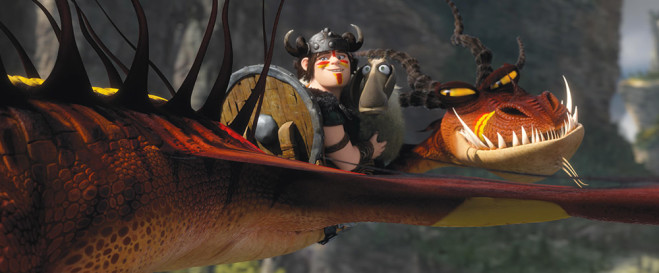 how to train your dragon 2 di Dean Deblois: la conferenza stampa a Cannes 2014