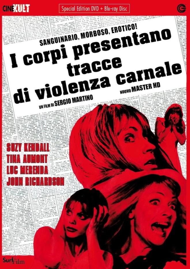 I Corpi presentano Tracce di Violenza Carnale di Sergio Martino, unboxing del Blu Ray limited di CG Entertainment