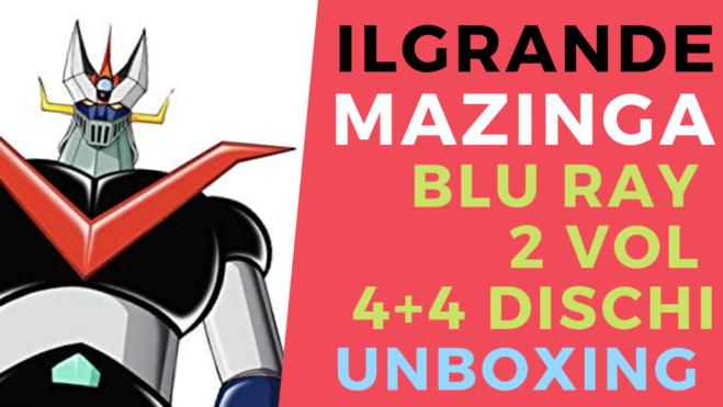 Il Grande Mazinga, Mazinga Z e i prodotti Anime Factory: il video unboxing e le informazioni utili sui punti vendita