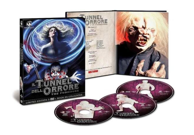 Il Tunnel dell'orrore di Tobe Hooper – Limited edition boxset 3 Blu Ray, il video unboxing