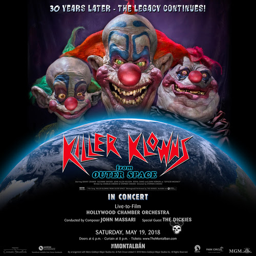 Killer Klowns from Outer Space – la colonna sonora di John Massari per il trentennale del film