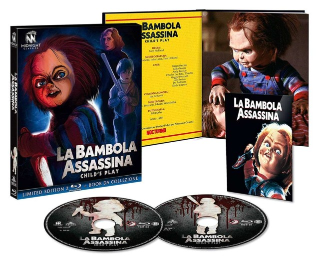 La Bambola assassina di Tom Holland – Blu Ray Midnight Factory lmtd. Edition: unboxing video