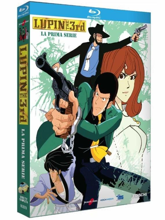 Lupin III – Il box della prima storica serie con 3 Blu Ray da Koch Media: Video Unboxing e recensione