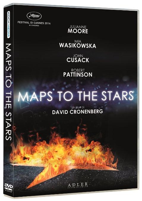 Maps to the stars di David Cronenberg il DVD e il Blu Ray