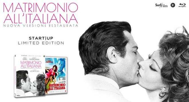 Matrimonio all'Italiana, la nuova versione in Blu-Ray: inizia la campagna start up
