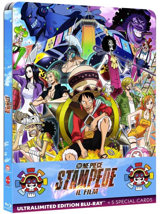 One Piece Stampede – Il Film in DVD e Blu Ray. Dal 19 Marzo