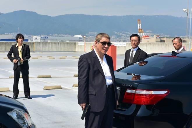 Outrage Coda di Takeshi Kitano la conferenza stampa a Venezia 74