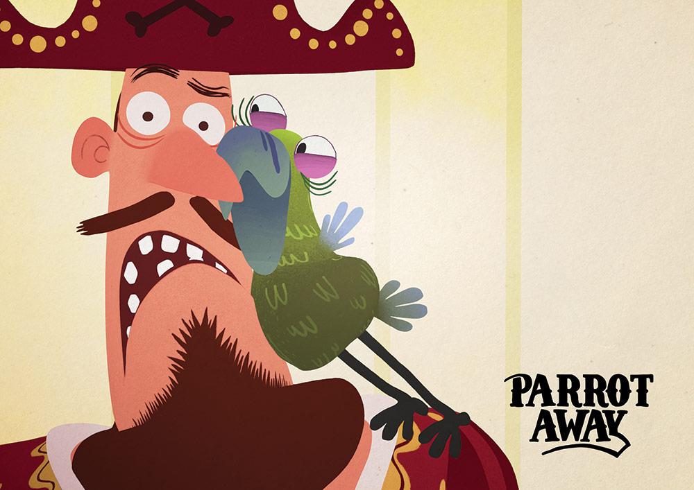 Parrot Away di