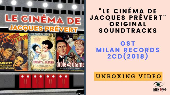 Le Cinéma de Jacques Prévert: Milan Records il doppio CD, guarda il video unboxing