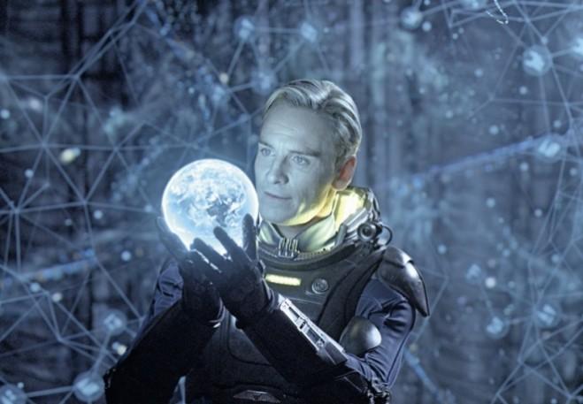Prometheus di Ridley Scott: le immagini hanno una qualità trans-apparente