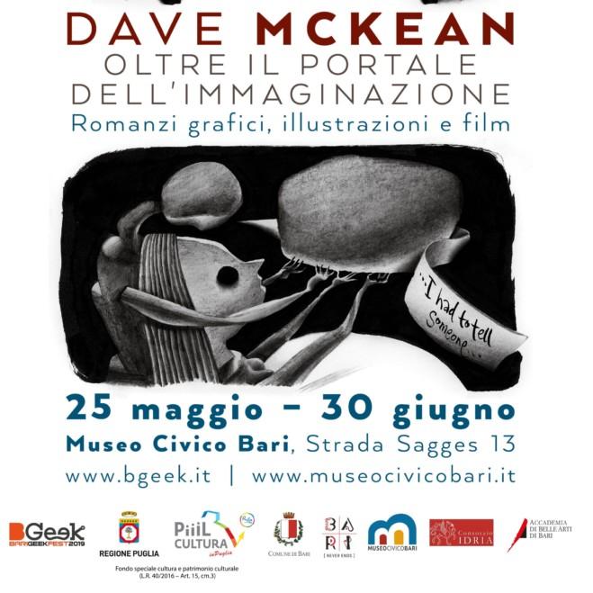 """""""Oltre il Portale dell'Immaginazione"""" Dave McKean a Bari fino al 30 Giugno."""