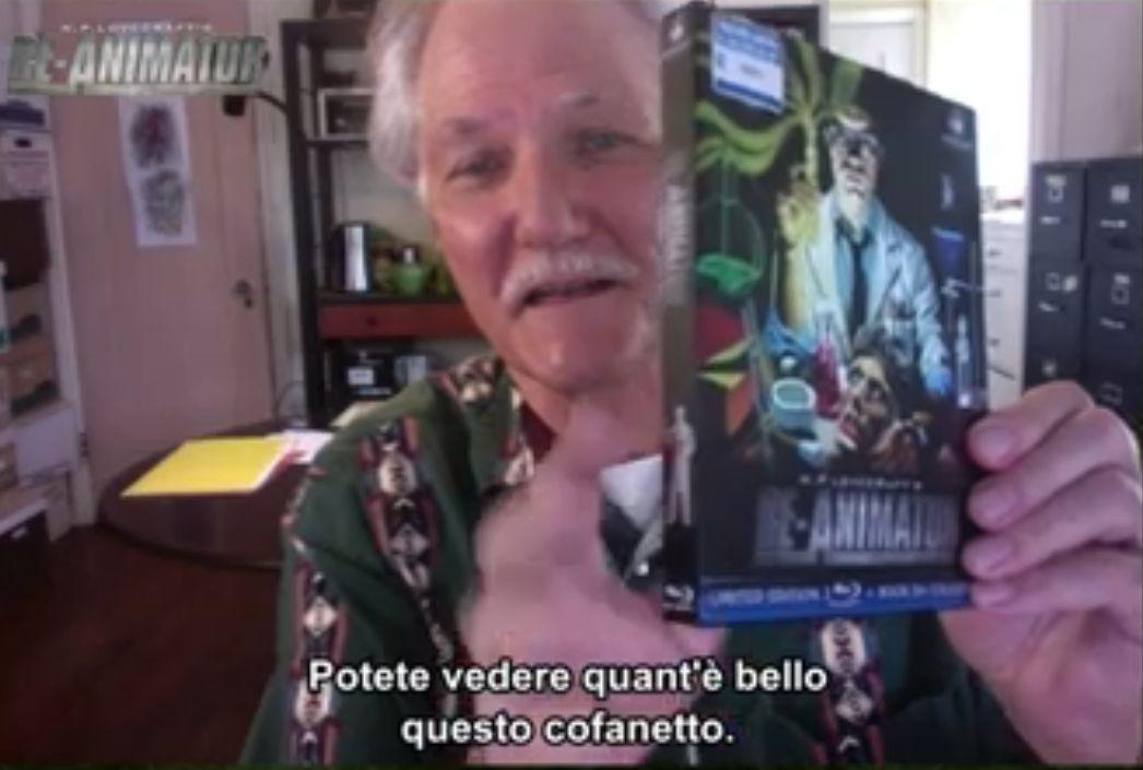 Re-animator, l'edizione Blu Ray limited: Brian Yuzna presenta l'unboxing