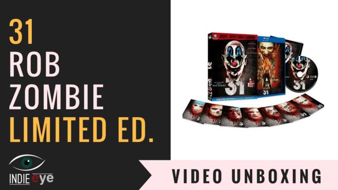 31 di Rob Zombie edizione limitata Blu Ray: il video unboxing