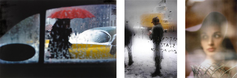 Alcuni scatti a colori di Saul Leiter