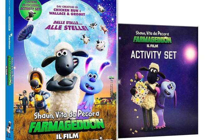 Shaun, Vita da pecora: Farmageddon. Il Blu Ray e il DVD + Activity Set: video unboxing