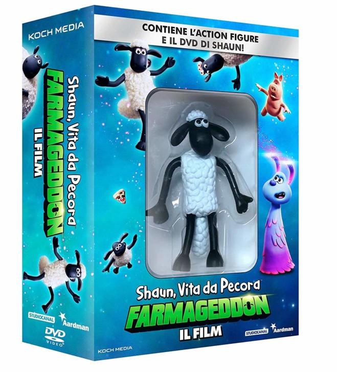 Shaun, vita da Pecora: Farmageddon – il film in DVD, Blu Ray e DVD + Activity Set