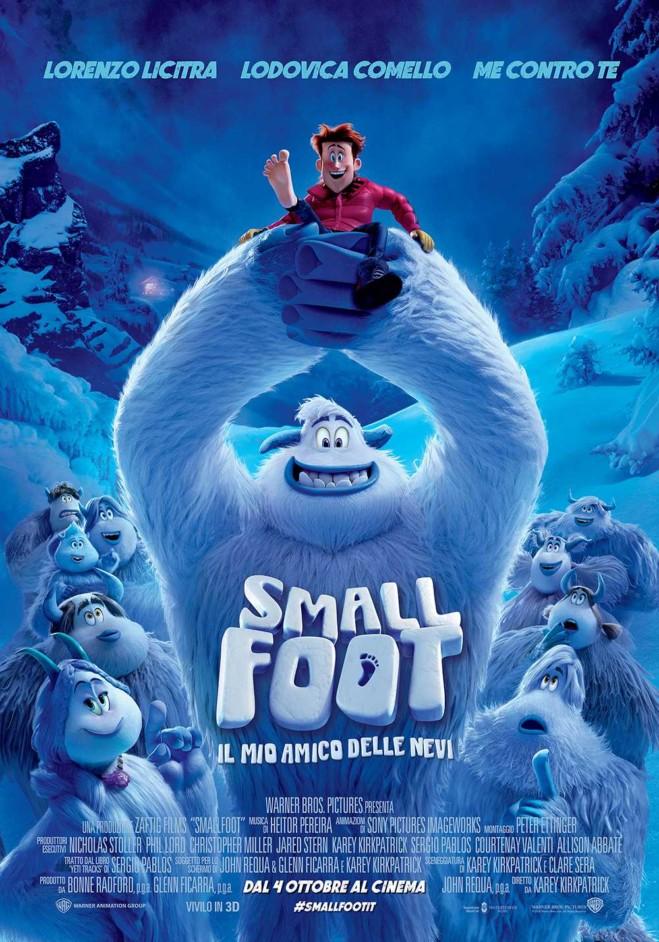 Smallfoot: il mio amico delle nevi in sala dal 4 ottobre