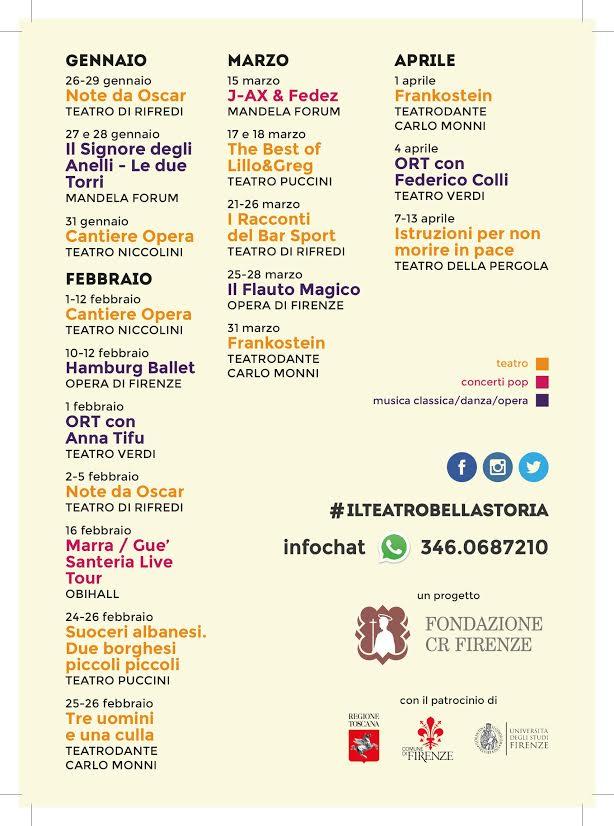 Il Teatro? #Bellastoria! - gli spettacoli dei 7 partner