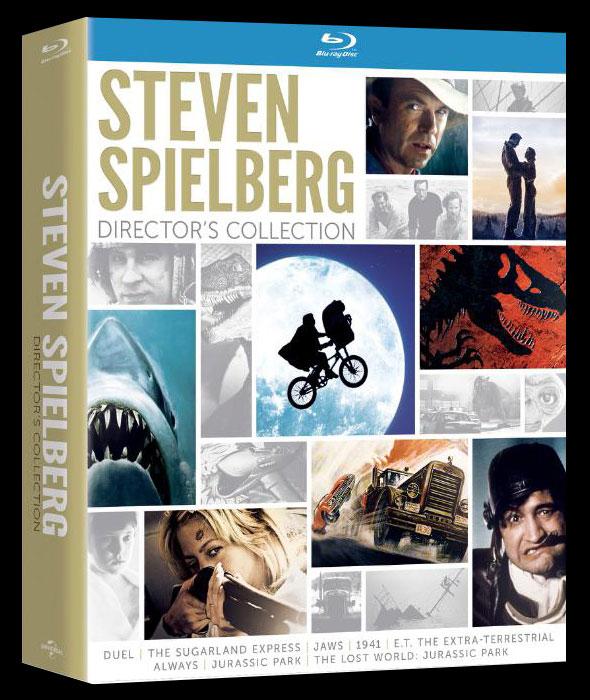 Universal pubblica un cofanetto Blu-Ray dedicato a Steven Spielberg